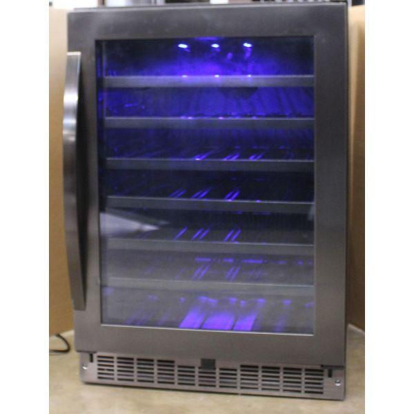 "Danby Silhouette 24"" Built In 48 Bottle Wine Cooler SSWC056D1B-S"