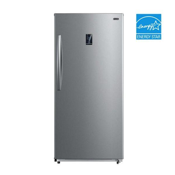 Whynter 13.8 CF Convertible Deep Freezer, Refrigerator Sub 0 UDF-139SS 056