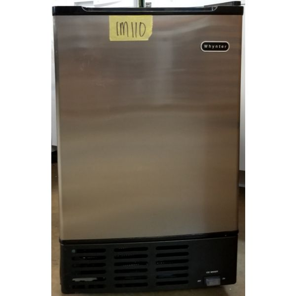 Whynter Built In Ice Maker Machine Stainless Steel 12lb UIM-155 IM110