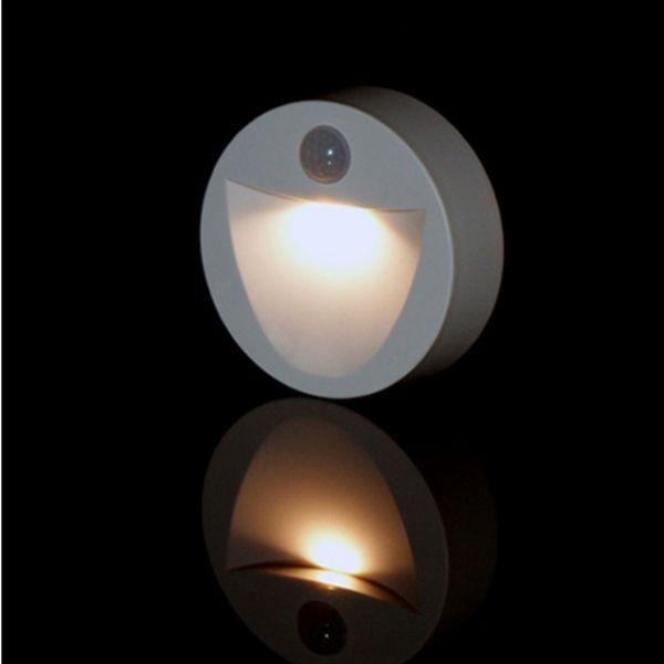 Versonel LED Motion Sensor Wireless Night Light 4-pack - Round VSLNSR1