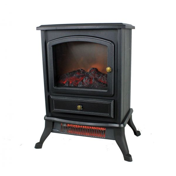 Warm Living 1000W Infrared Stove Fireplace Heater WL-207