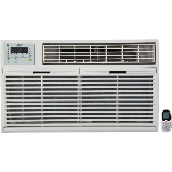 Arctic King 10,000 BTU Through the Wall Air Conditioner, w/ Heat, 230V WTW-10ER5A(TW)