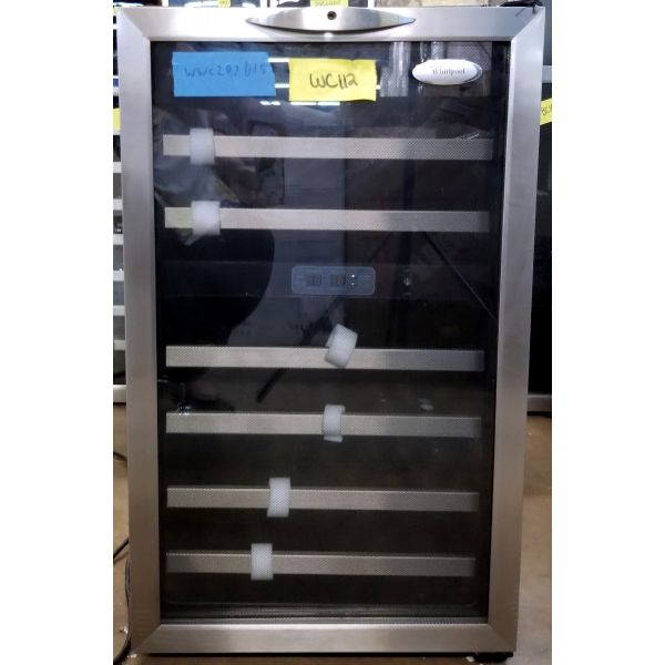 Whirlpool Dual Zone 38 Bottle Wine Cellar Chiller Cooler WWC287BLS WC112