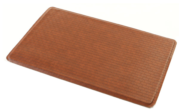 kitchen gel floor mats gel easy kitchen gel floor mat chestnut as seen on tv 4906