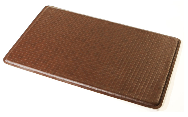kitchen gel floor mats gel easy kitchen gel floor mat mocha as seen on tv ebay 4906