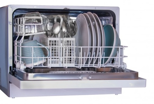 Countertop Dishwasher Energy Star : Details about HAIER ENERGY STAR COUNTERTOP PORTABLE DISHWASHER 6 PLACE ...