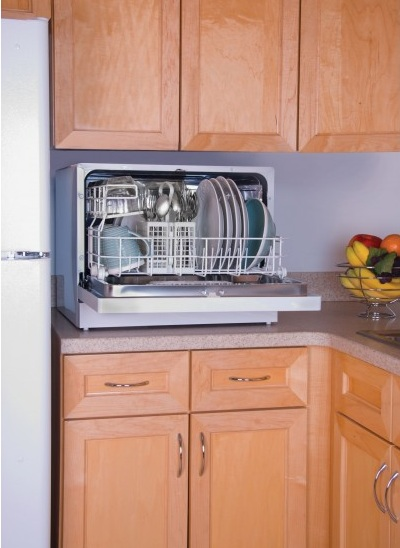 ... ENERGY STAR COUNTERTOP PORTABLE DISHWASHER 6 PLACE SETTING HDC2406TW