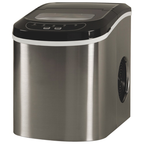 Haier Countertop Ice Maker Reviews : Haier Portable Countertop Ice Maker Machine Stainless Steel 25lbs Day ...
