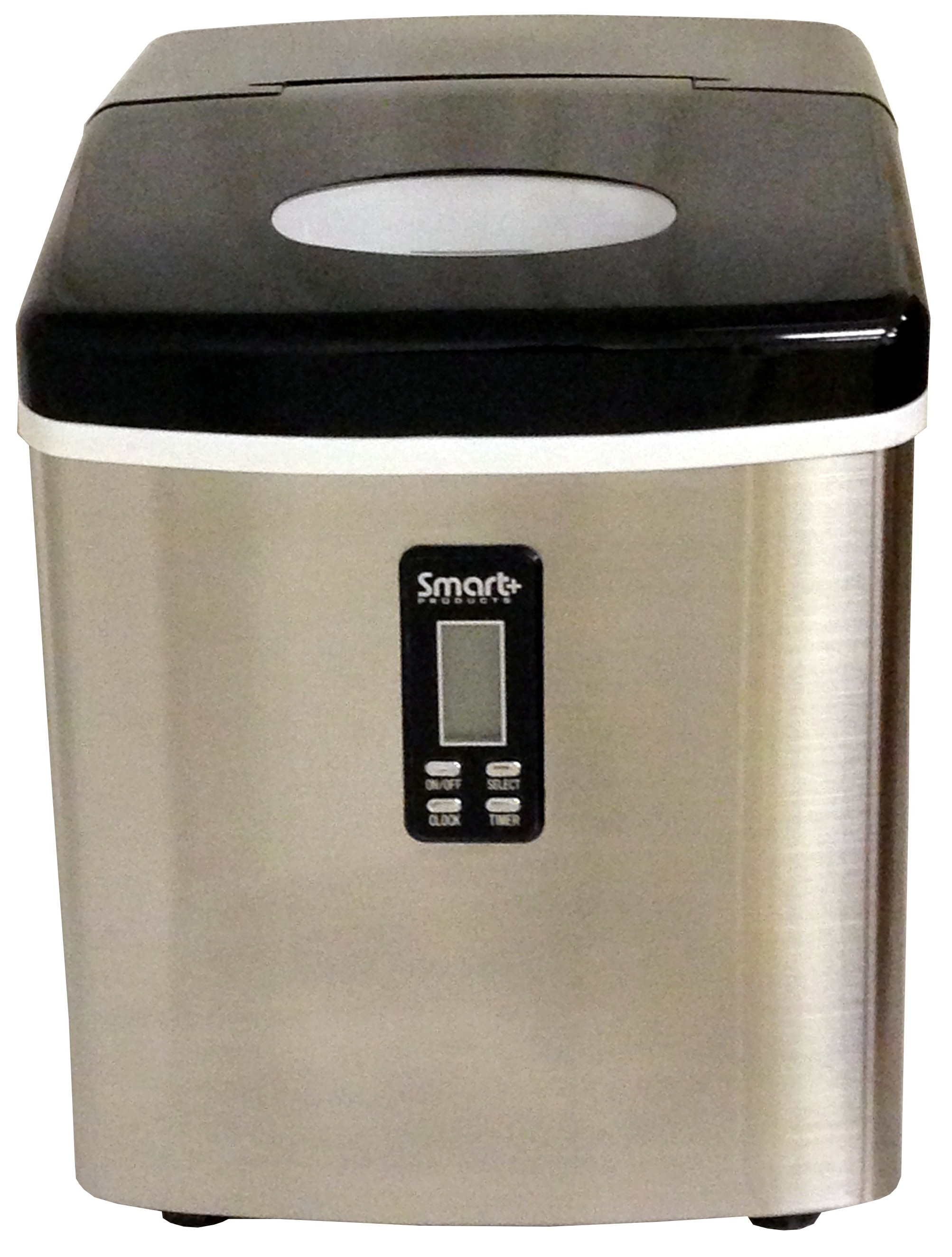 Countertop Ice Maker How Does It Work : ... Smart+ Portable Countertop Ice Maker Machine Stainless SPP15AIM Refurb
