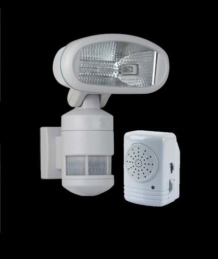 versonel outdoor robotic halogen motion tracking security. Black Bedroom Furniture Sets. Home Design Ideas