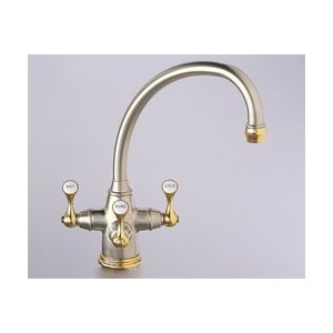 Franke Triflow : Franke Triflow Traditional Kitchen Filtered Faucet TFT-390 Nubrass ...